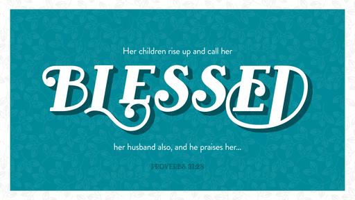 Proverbs 31:28 verse of the day image