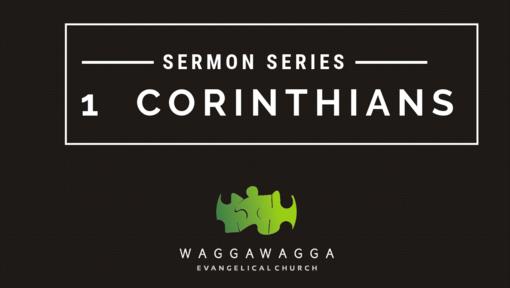1 Corinthians 1-6: Growing God's Church