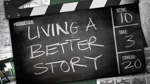 Live a Better Story - Invitation