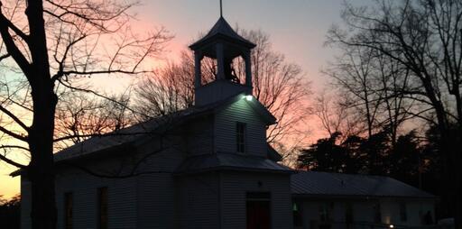 Sunset At Morning Star Lutheran