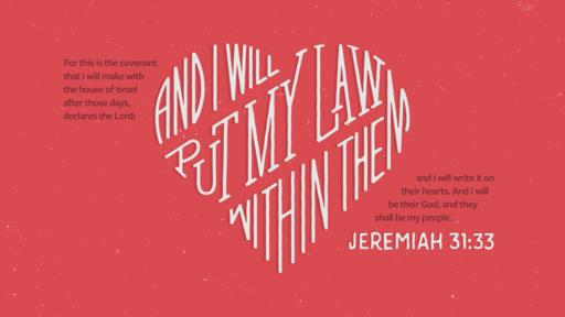 Jeremiah 31:33 verse of the day image
