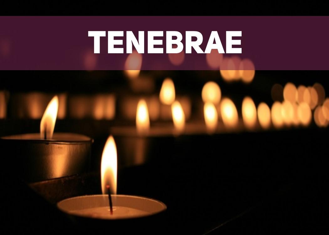 Tenebrae Event Photo