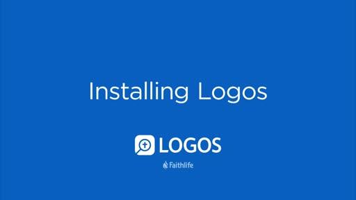Installing Logos (Cloud Resources)