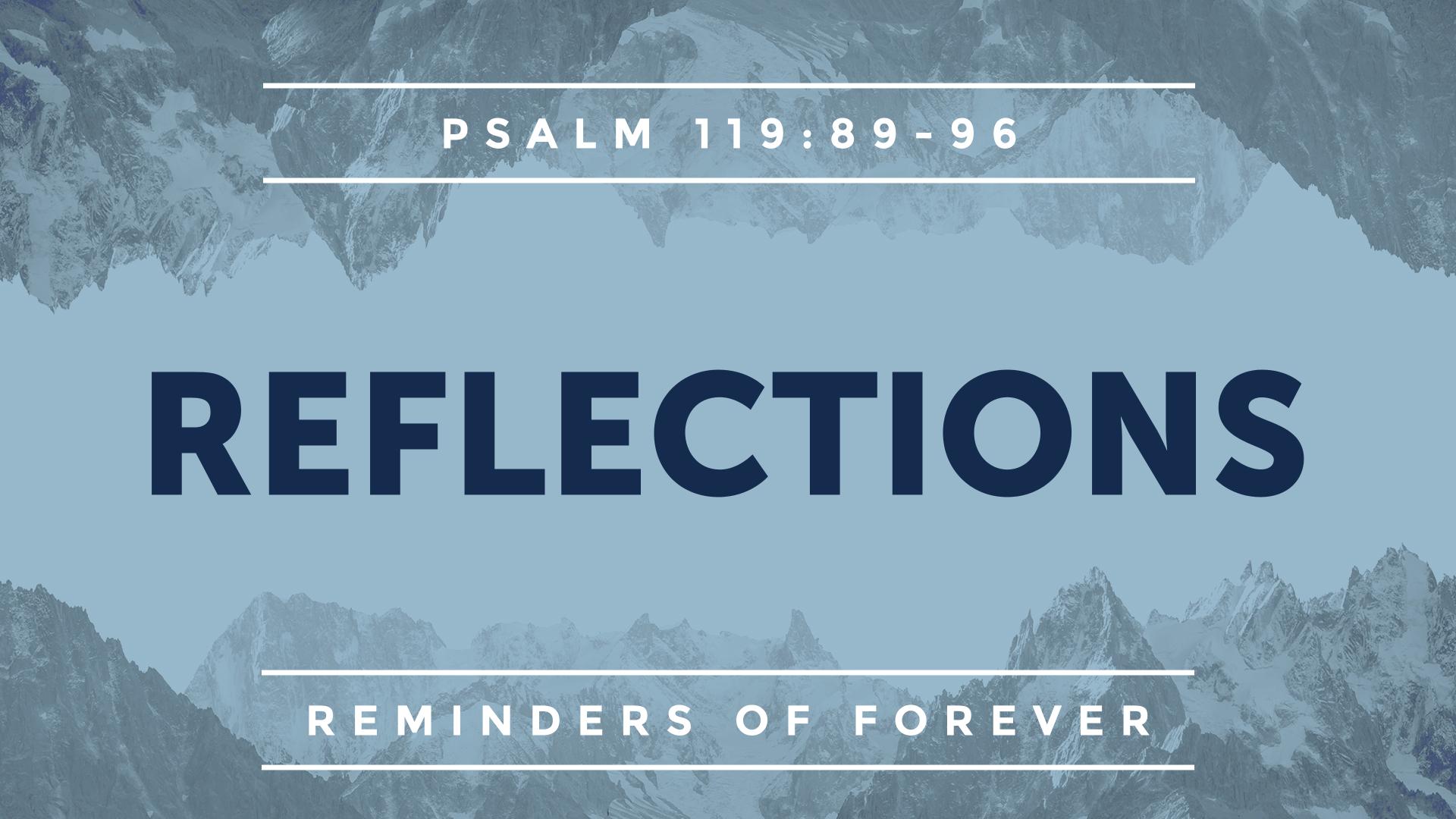 Reminders of Forever - Faithlife Sermons