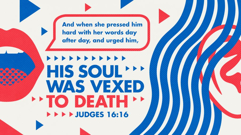 Judges 16:16 large preview