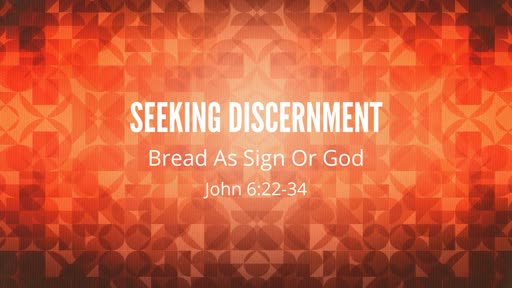March 31, 2019 - Seeking Discernment