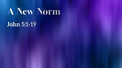 3/31/2019 A New Norm