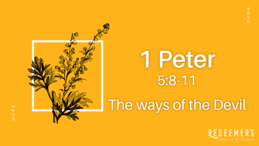 1 Peter 5:6-9 • Recognize, Resist, and Rest.