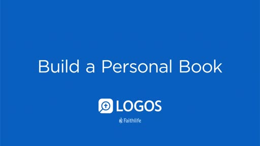 Build A Personal Book