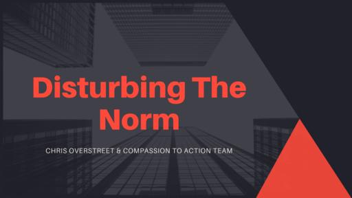 Disturbing the Norm