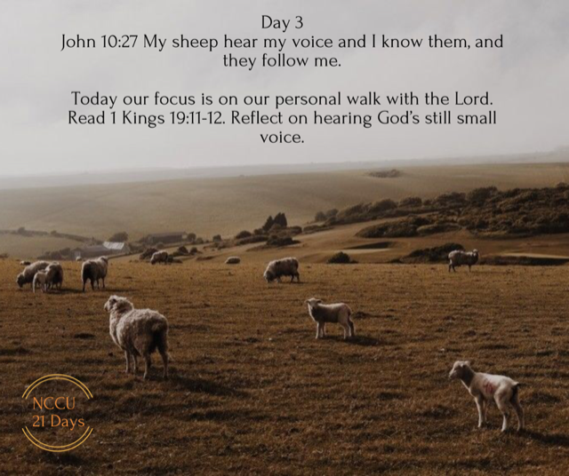 Day 3 Of Prayer