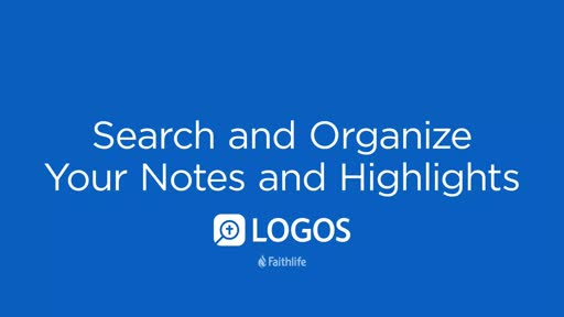 Search And Organize Your Notes