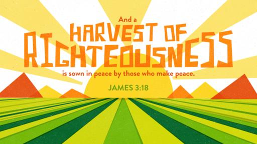 James 3:18 verse of the day image