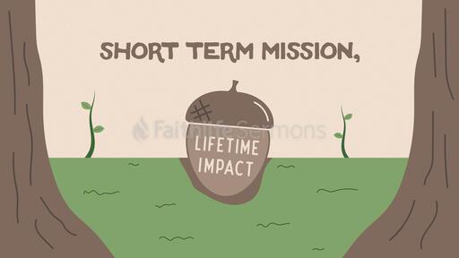 Short Term Mission Lifetime Impact