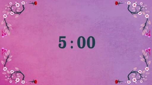 Hello Spring - Countdown 5 min