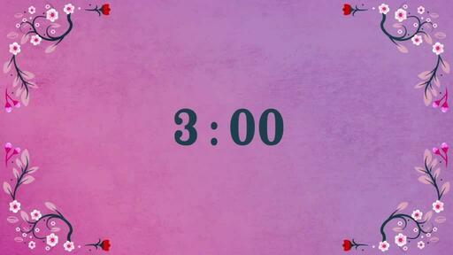Hello Spring - Countdown 3 min