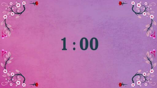 Hello Spring - Countdown 1 min