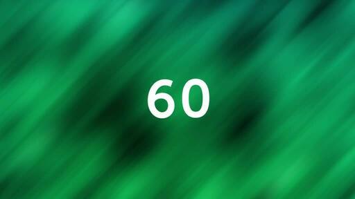 Abstract Green Black - Countdown 1 min