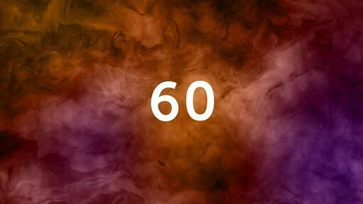 Abstract Orange Pink - Countdown 1 min
