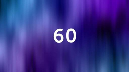 Abstract Blue Purple - Countdown 1 min