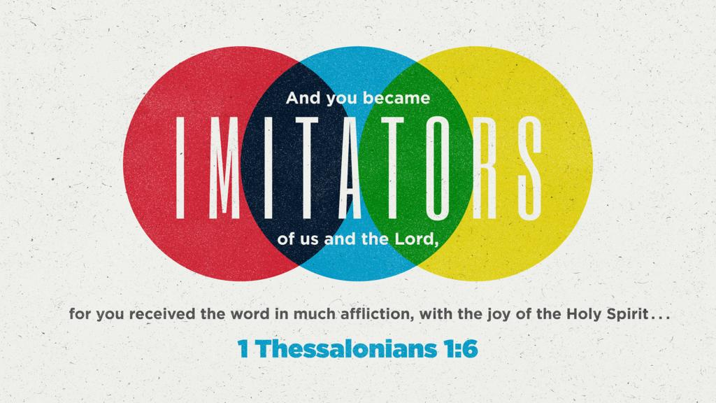1 Thessalonians 1:6 large preview