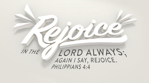 Philippians 4:4 verse of the day image
