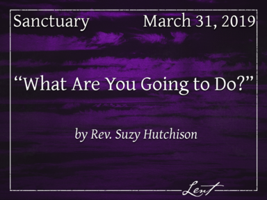April 7, 2019 - Sanctuary