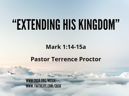 "4-07-19 ""Extending Hi Kingdom"" 1st Service"