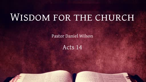 Wisdom for the church