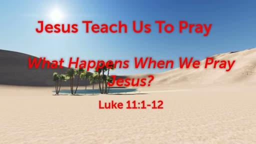 Jesus Teach Us To Pray