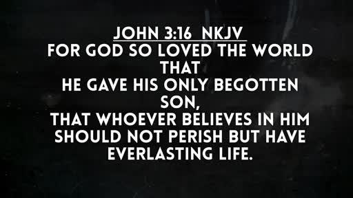 Believe!! John 3:16