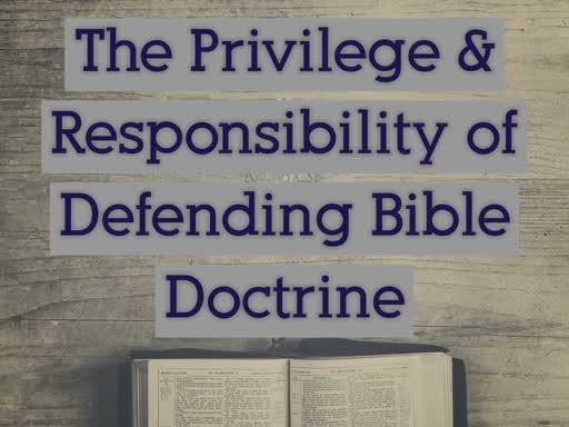 April 7th (Privilege & Respsonsibility)