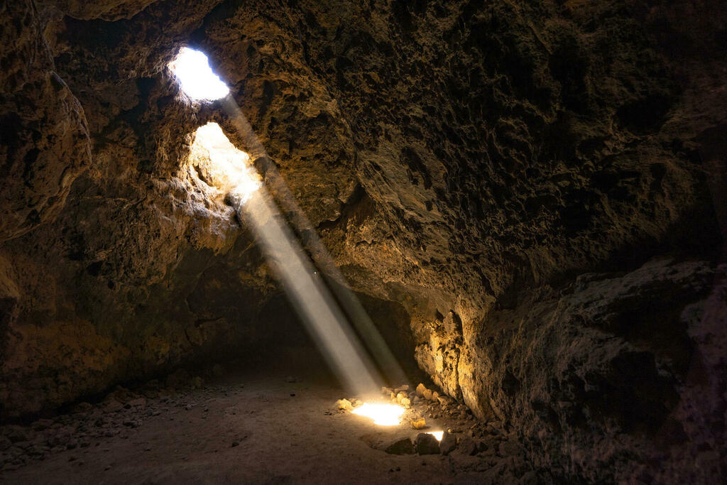 Beam of Light in a Cave large preview