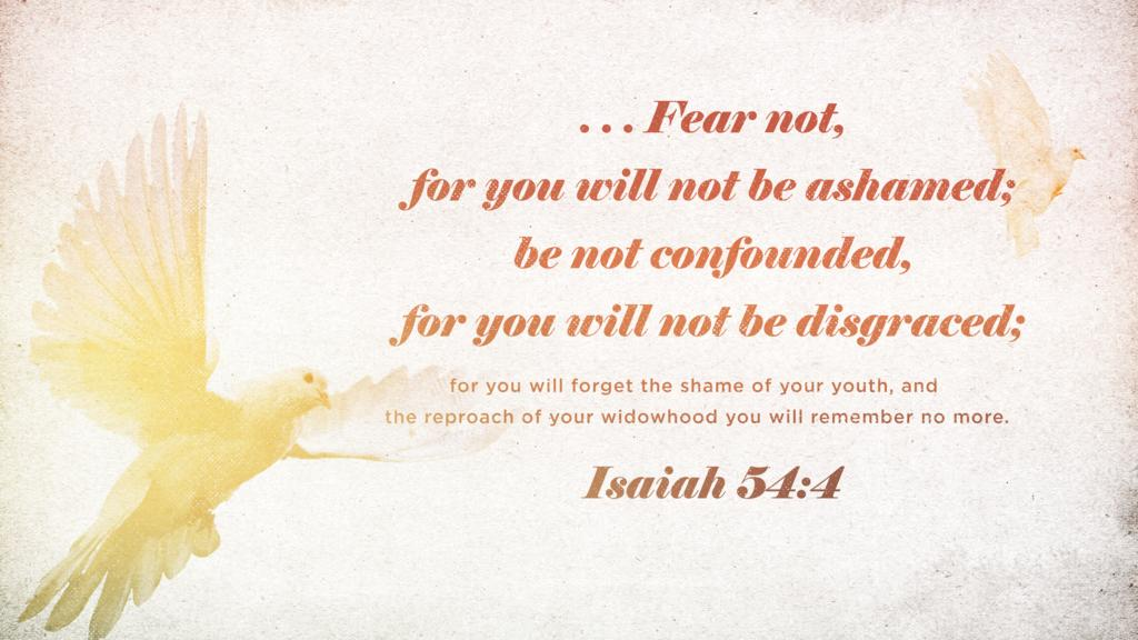 Isaiah 54:4 large preview