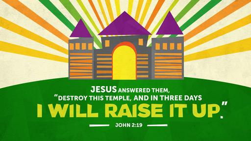 John 2:19 verse of the day image