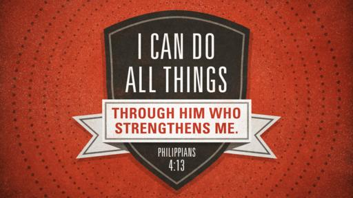 Philippians 4:13 verse of the day image