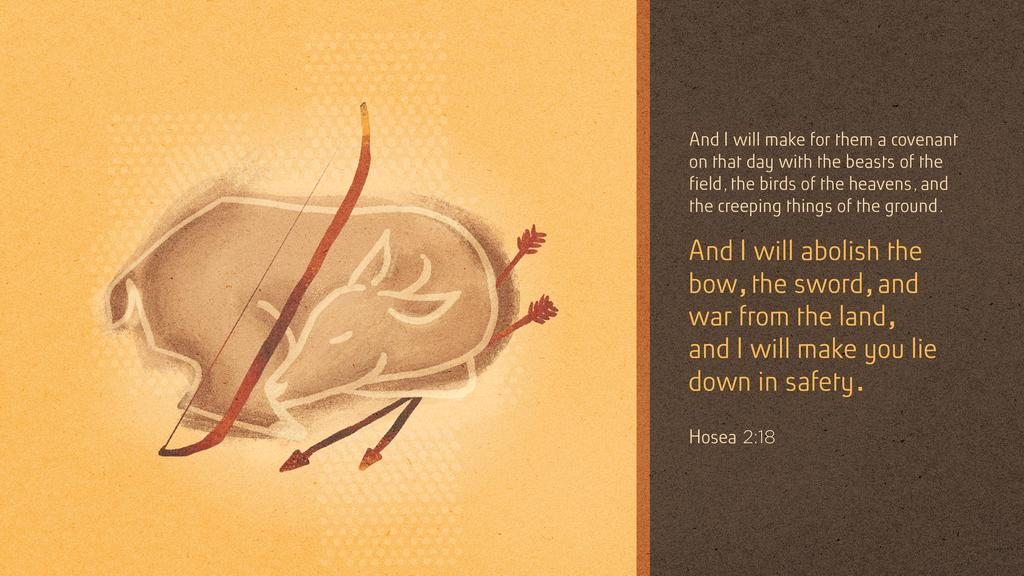 Hosea 2:18 large preview