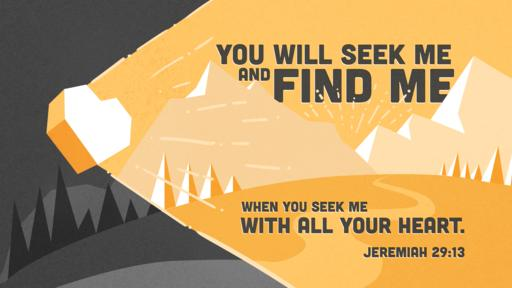 Jeremiah 29:13 verse of the day image