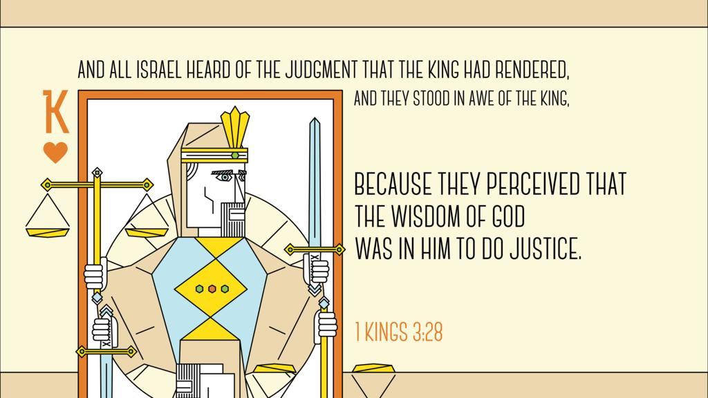 1 Kings 3:28 large preview