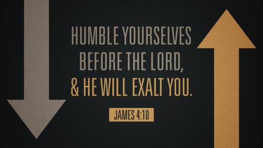 James 4:10 verse of the day image
