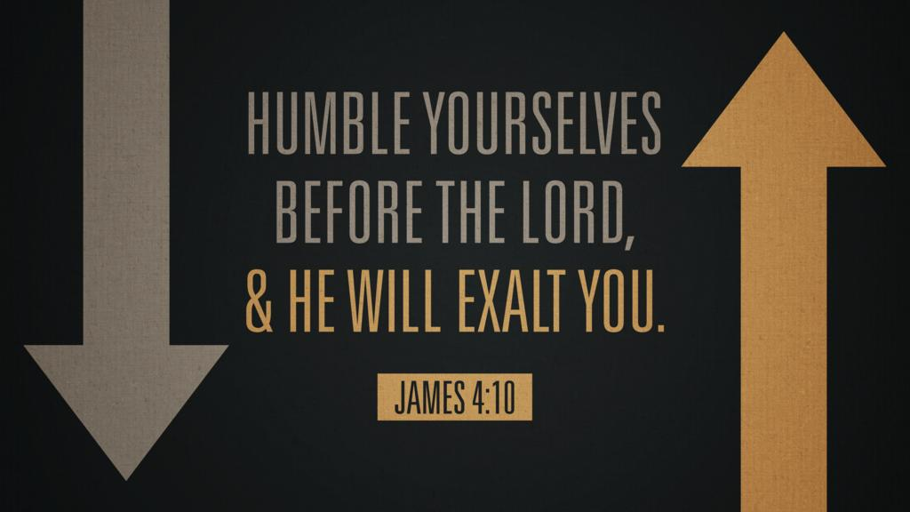 James 4:10 large preview