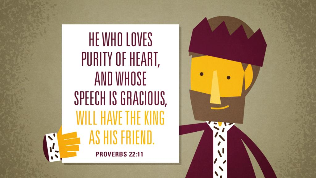 Proverbs 22:11 large preview