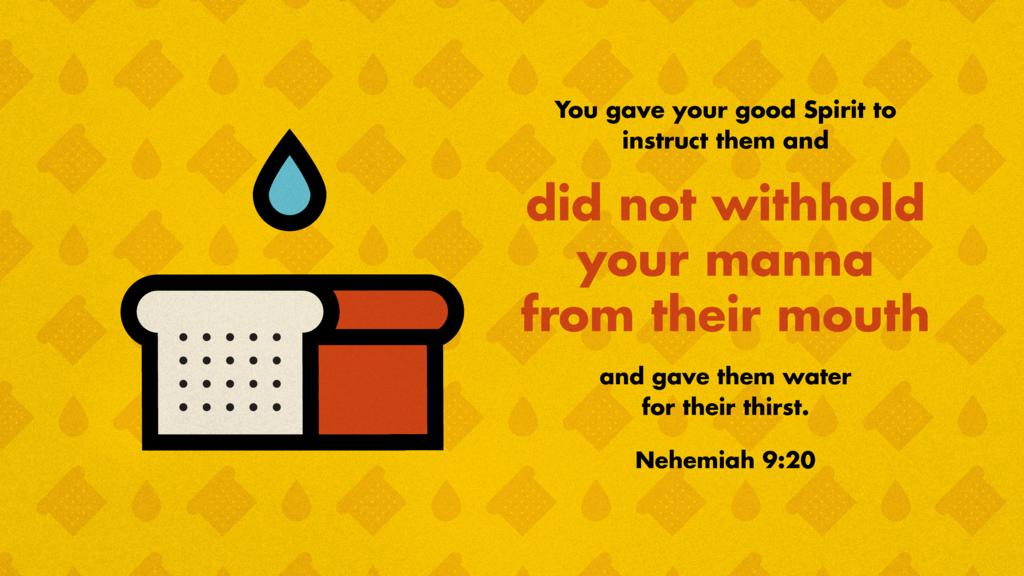 Nehemiah 9:20 large preview
