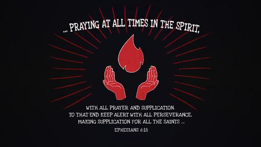 Ephesians 6:18 verse of the day image