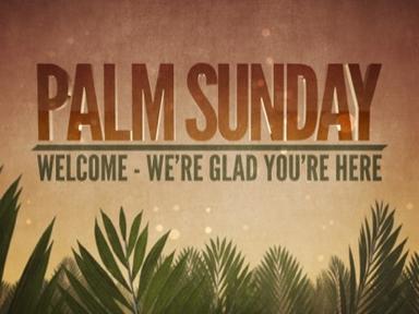 Palm Sunday!
