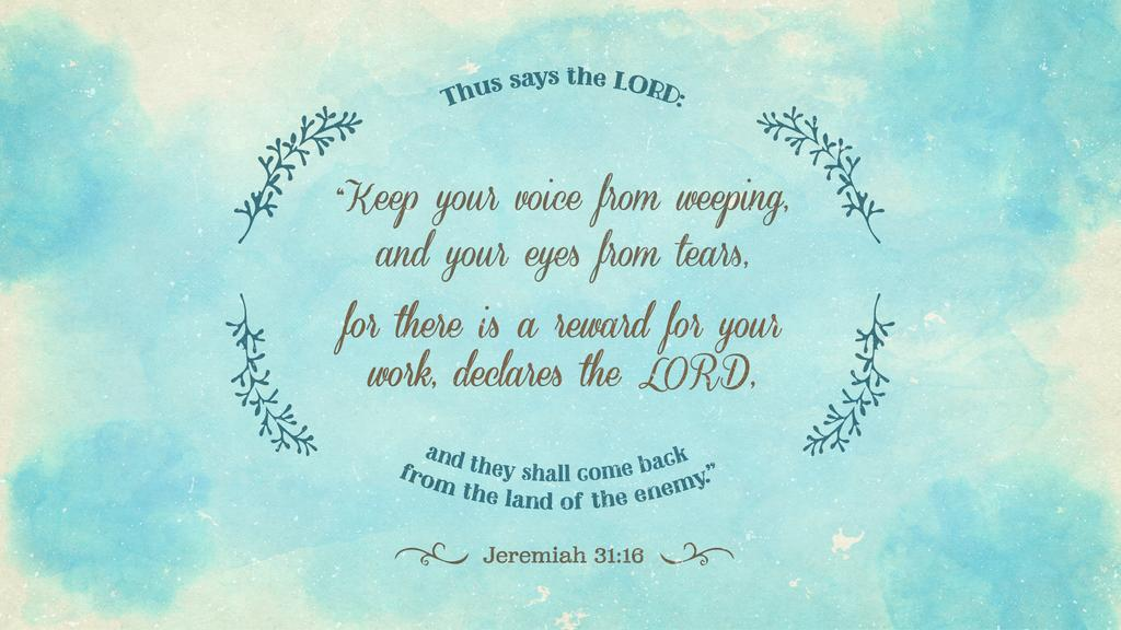 Jeremiah 31:16 large preview
