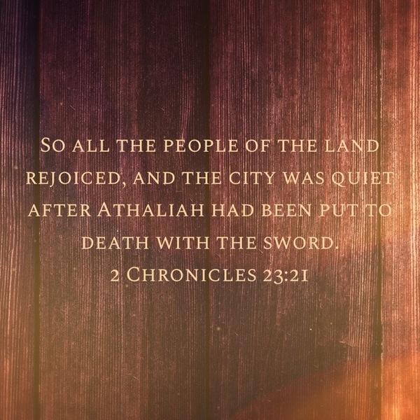 2 Chronicles 23: