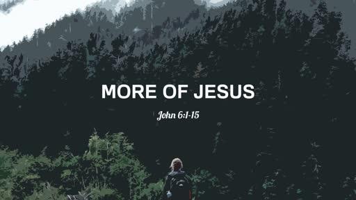 4/14/2019 More of Jesus: John 6:1-15