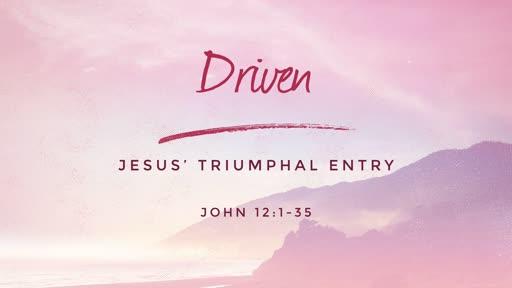 John 12:1-35 // Driven