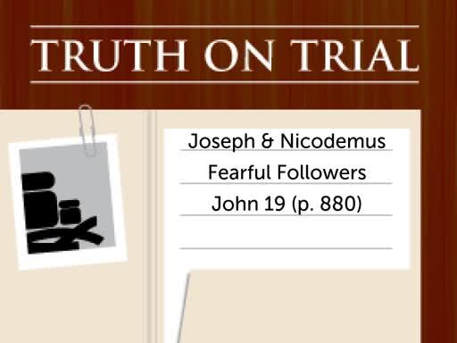 Joseph and Nicodemus